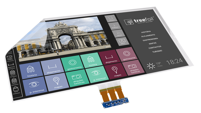 Interactive Touch Foils | TREEFOIL